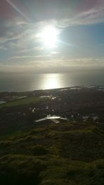 Looking down to Burntisland
